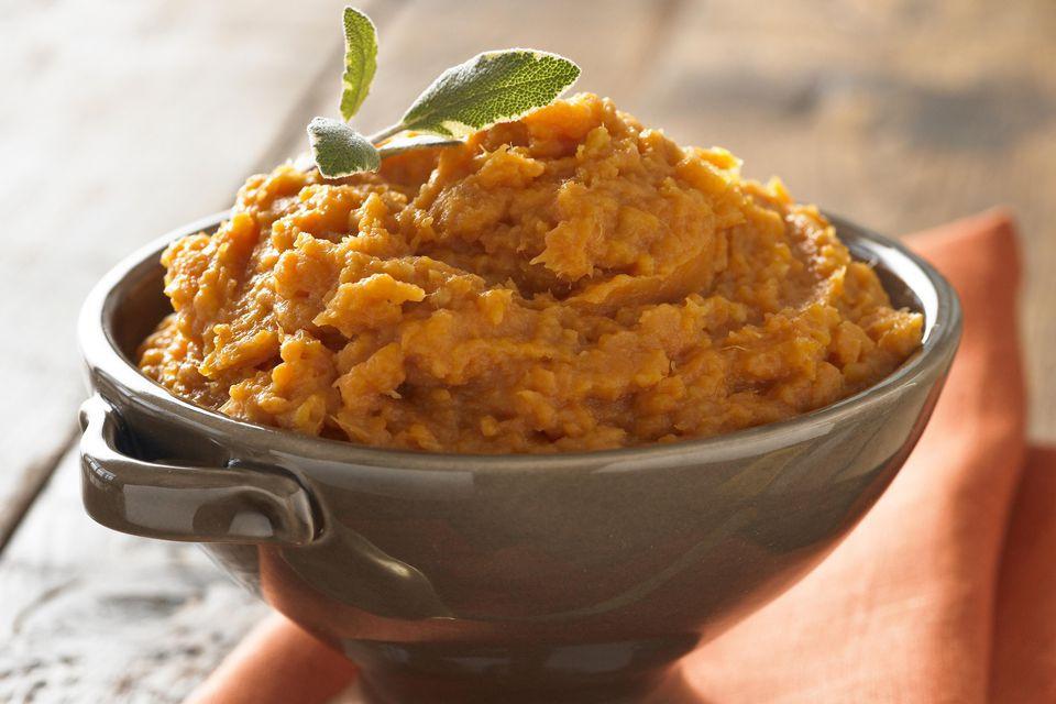 Low Fat Sweet Potato Recipes  Low Fat Mashed Sweet Potatoes Recipe