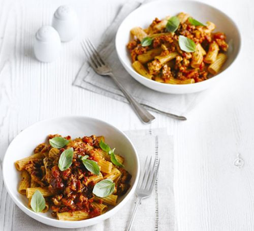 Low Fat Thanksgiving Recipes  Low fat turkey Bolognese recipe