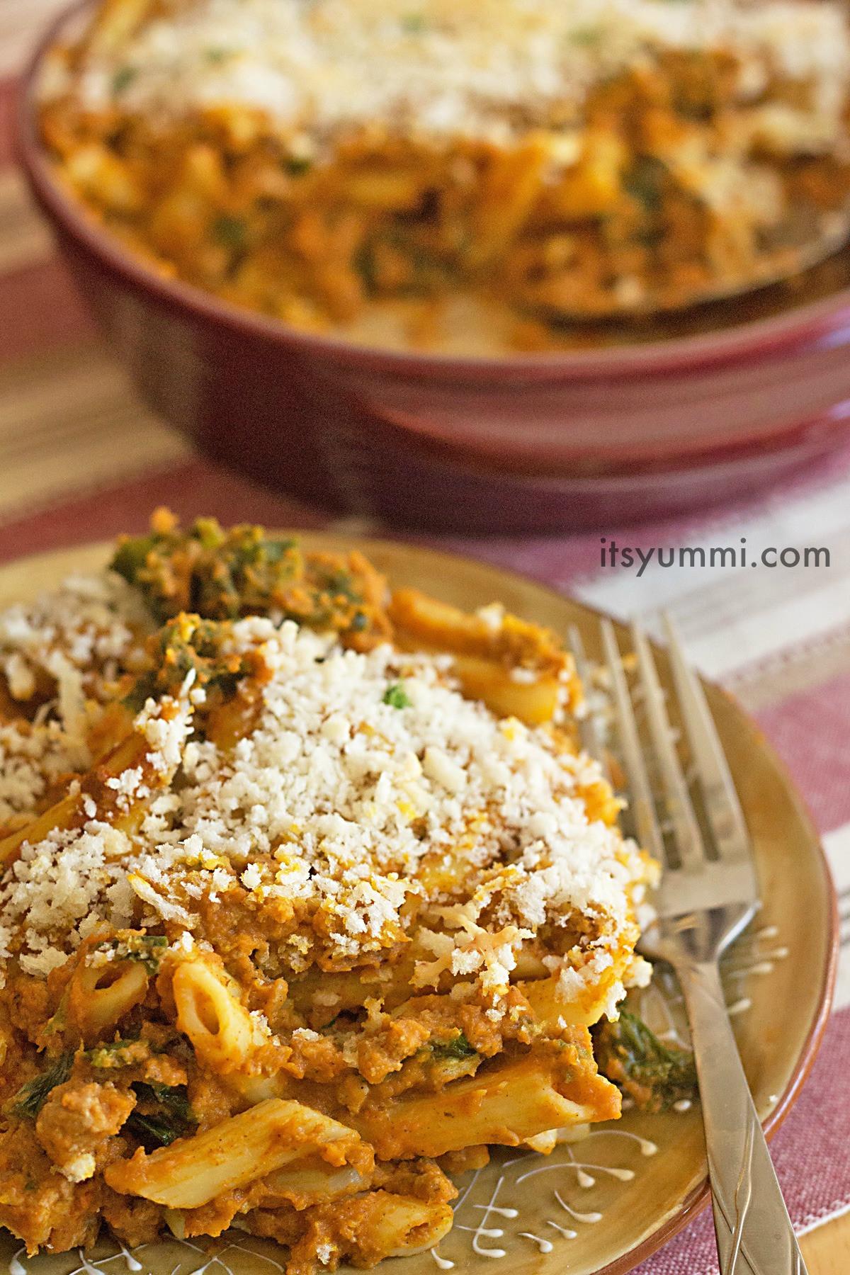 Low Fat Thanksgiving Recipes  Low Fat Turkey Pumpkin Pasta
