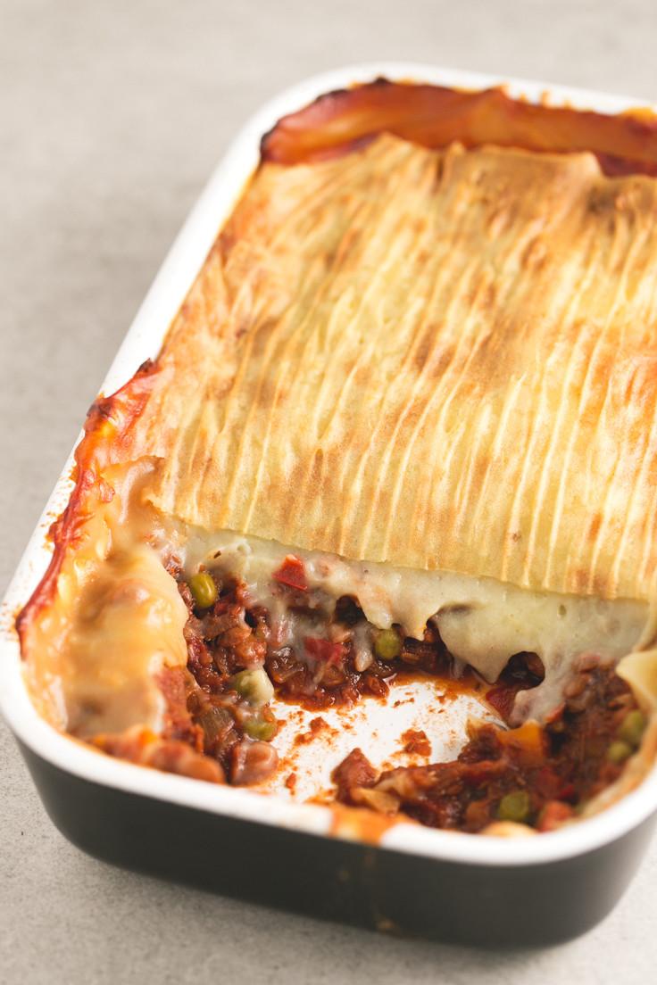 Low Fat Vegan Recipes  Low Fat Vegan Shepherd s Pie Simple Vegan Blog