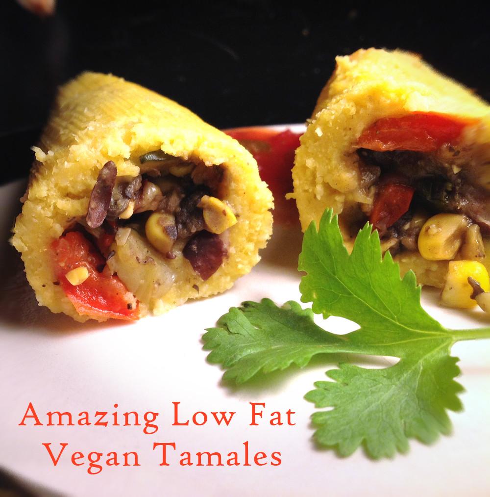 Low Fat Vegan Recipes  Healthy Dinner Low Fat Vegan Tamales