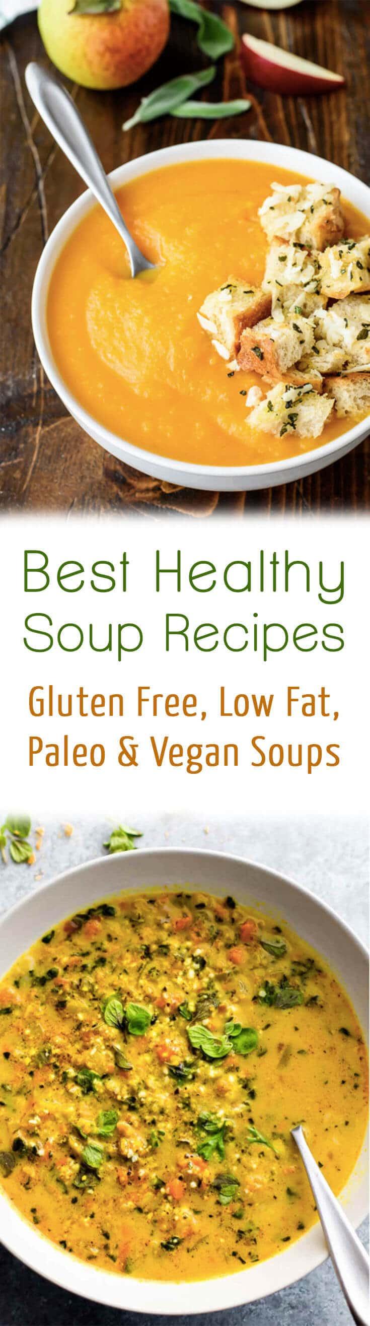 Low Fat Vegan Recipes  10 Best Healthy Soup Recipes