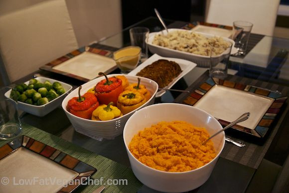 Low Fat Vegetarian Dinner Recipes  17 Best images about Plant Based Thanksgiving Recipes Low