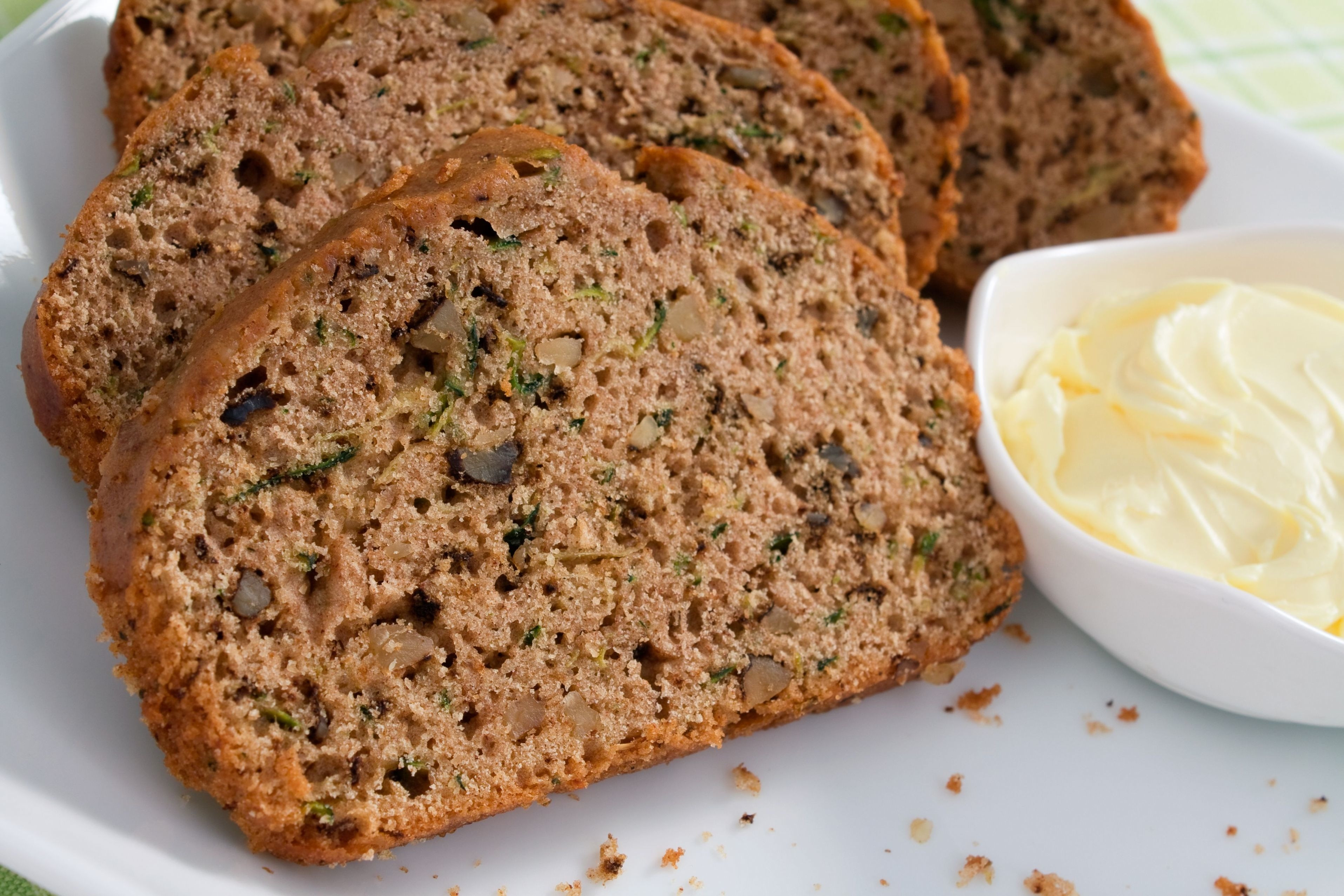 Low Fat Zucchini Bread  Skinny Zucchini Bread