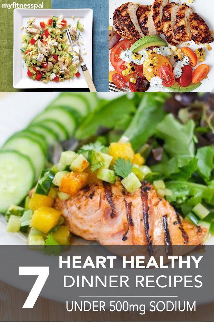 Low Sodium Heart Healthy Recipes  7 Heart Healthy Dinner Recipes
