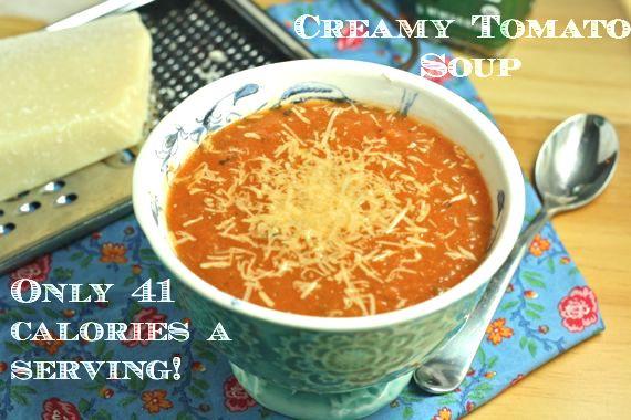 Low Sodium Low Calorie Recipes  Creamy Tomato Soup Vegan Low Fat Paleo Low Sodium