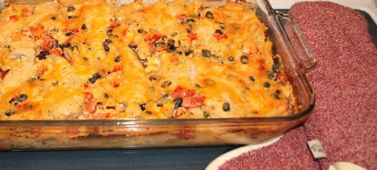 Low Sodium Low Calorie Recipes  Mexican Chicken Penne Bake Low Sodium Low Fat High