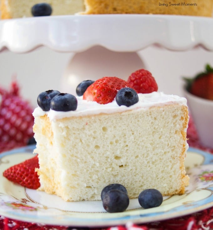 Low Sugar Desserts For Diabetics  Incredibly Delicious Sugar Free Angel Food Cake Living