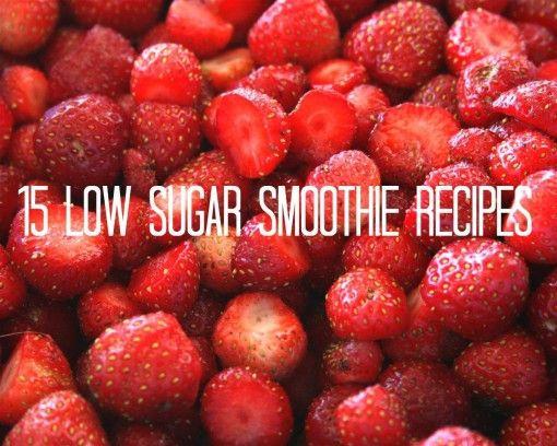 Low Sugar Smoothies For Diabetics  15 Low Sugar Smoothie Recipes