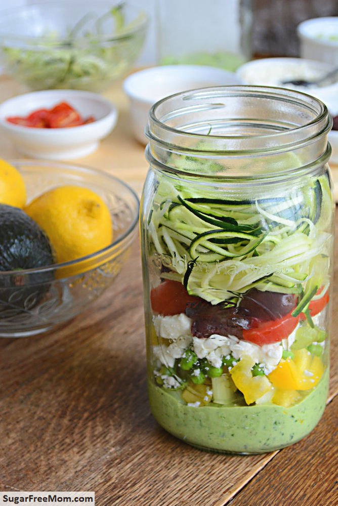Mason Jar Salad Recipes Low Calorie  These Mason Jar Salads Are Your New Go To Lunch