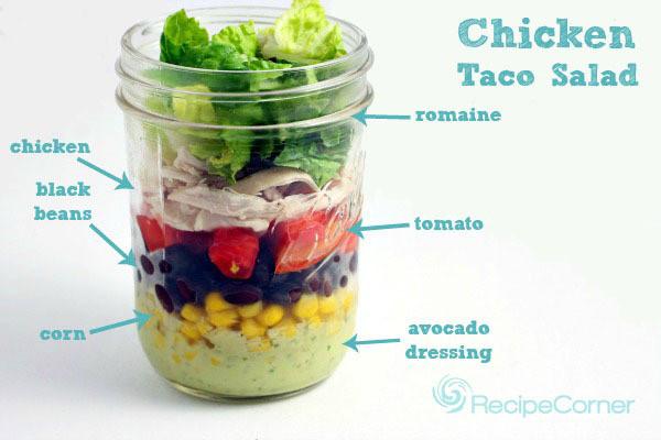 "Mason Jar Salad Recipes Low Calorie  beautifulpicturesofhealthyfood "" 5 Affordable Mason Jar"