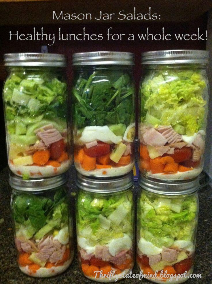 Mason Jar Salad Recipes Low Calorie  Just Another Diy In Paradise How To Mason Jar Salads