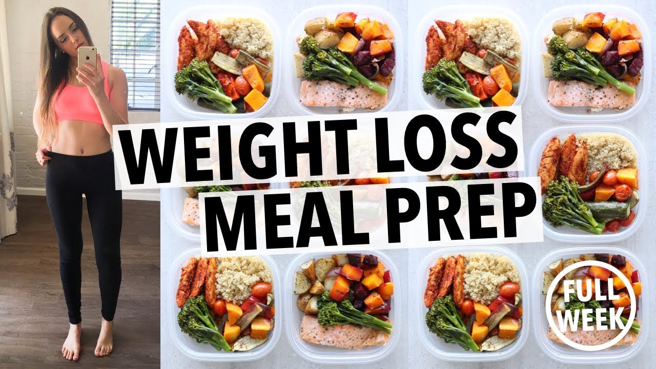 Meal Prep Recipes For Weight Loss  WEIGHT LOSS MEAL PREP FOR WOMEN 1 WEEK IN 1 HOUR By