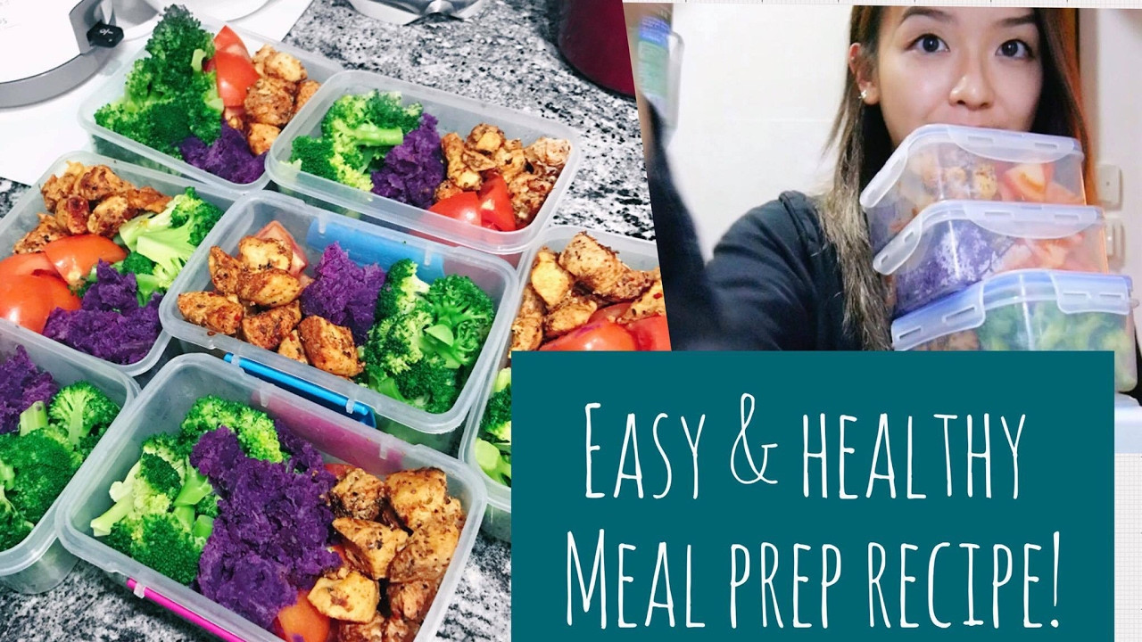 Meal Prep Recipes For Weight Loss  EASY & HEALTHY MEAL PREP RECIPE 💕