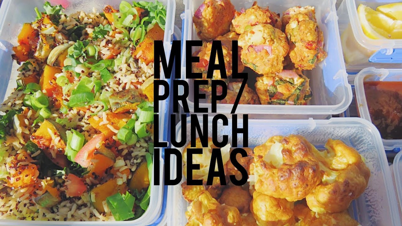 Meal Prep Recipes For Weight Loss  LUNCH MEAL PREP IDEAS HEALTHY WEIGHTLOSS RECIPES