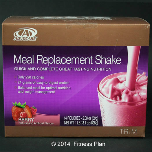 Meal Replacement Shakes Recipes For Weight Loss  AdvoCare Meal Replacement Shake Berry Flavor Great For