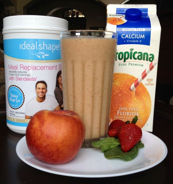 Meal Replacement Shakes Recipes For Weight Loss  Meal Replacement Smoothie Recipes & Weight Loss Shake