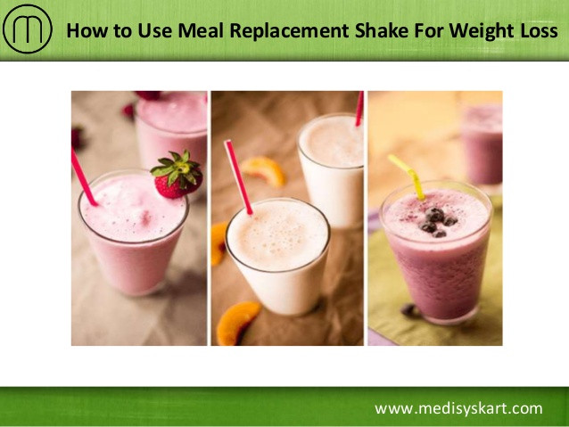Meal Replacement Smoothie Recipes For Weight Loss  How to Use Meal Replacement Shake For Weight Loss