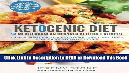 Mediterranean Keto Diet  BEST PDF Ketogenic Diet 50 Mediterranean Inspired Keto