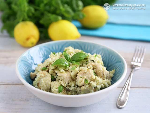 """Mediterranean Keto Diet  Mediterranean Low Carb """"Risotto"""""""