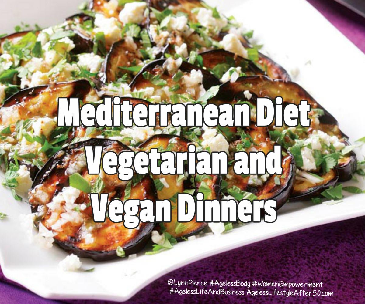 Mediterranean Vegetarian Diet  Mediterranean Diet Ve arian and Vegan Dinners Lynn