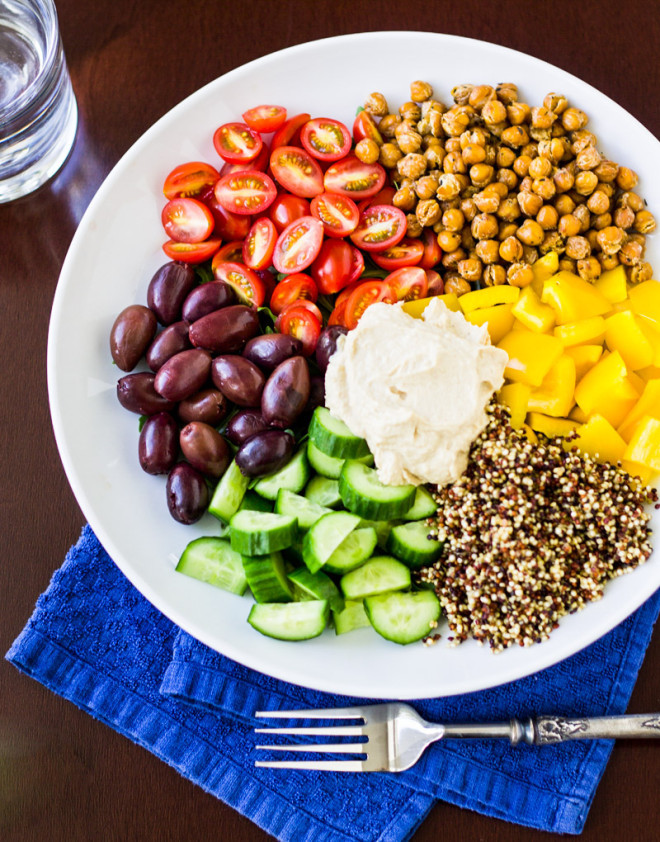 Mediterranean Vegetarian Diet  Weeknight Recipes Meal Plan with Culinary Hill Rainbow