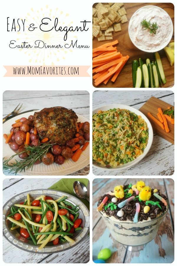 Menu For Easter Dinner  Easy & Elegant Easter Dinner Menu Mom Favorites