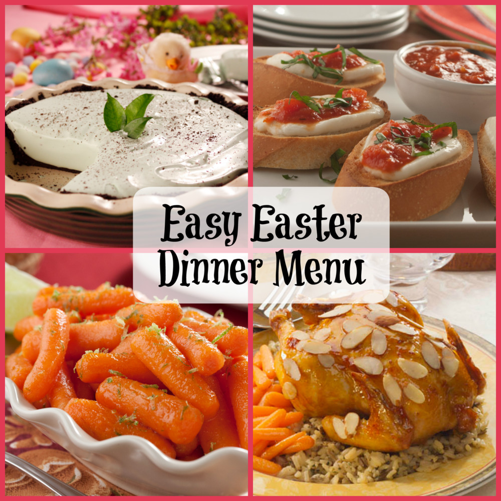 Menu For Easter Dinner  Easy Easter Dinner Menu