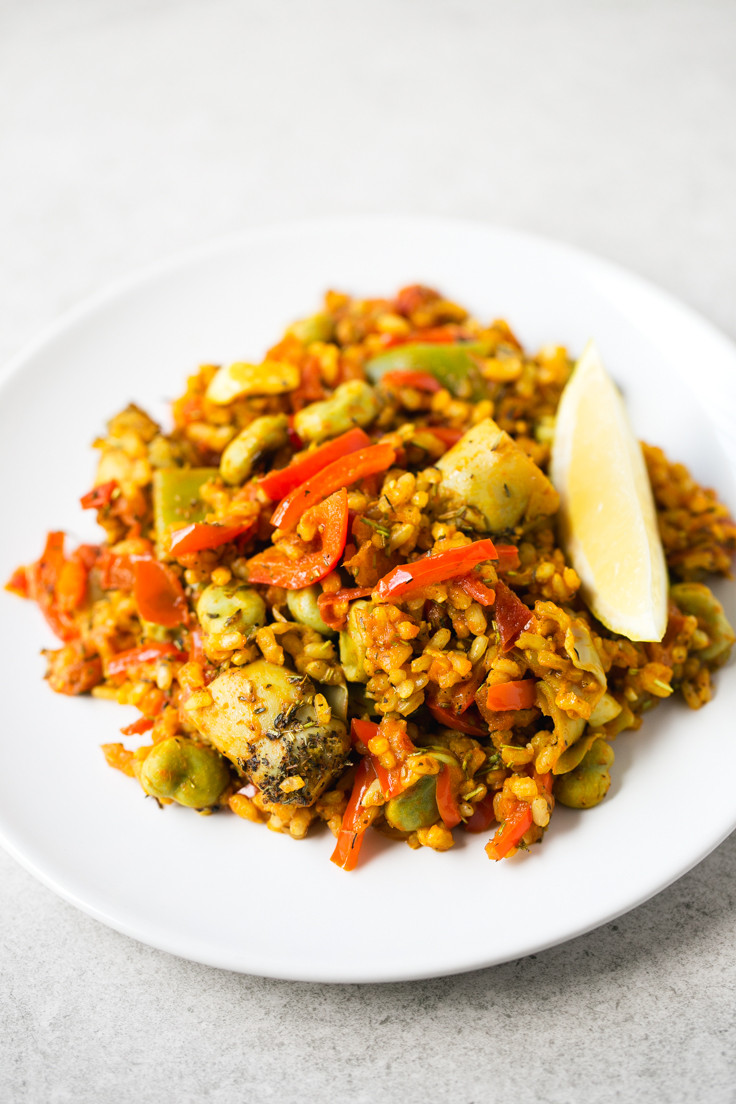 Mexican Rice Recipes Vegetarian  Spanish Ve able Rice