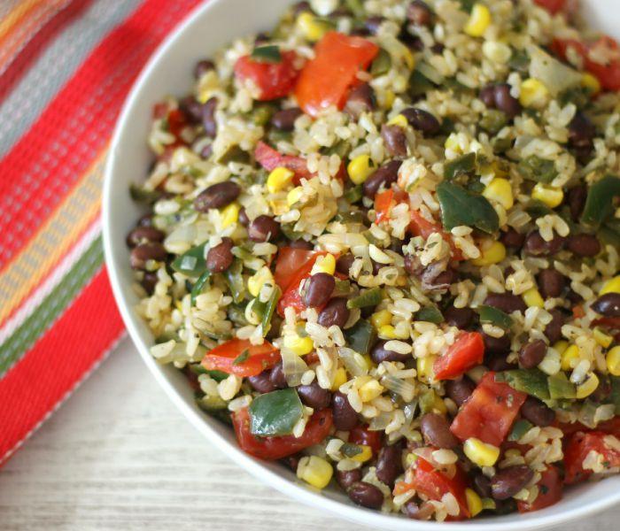 Mexican Rice Recipes Vegetarian  vegan mexican recipes