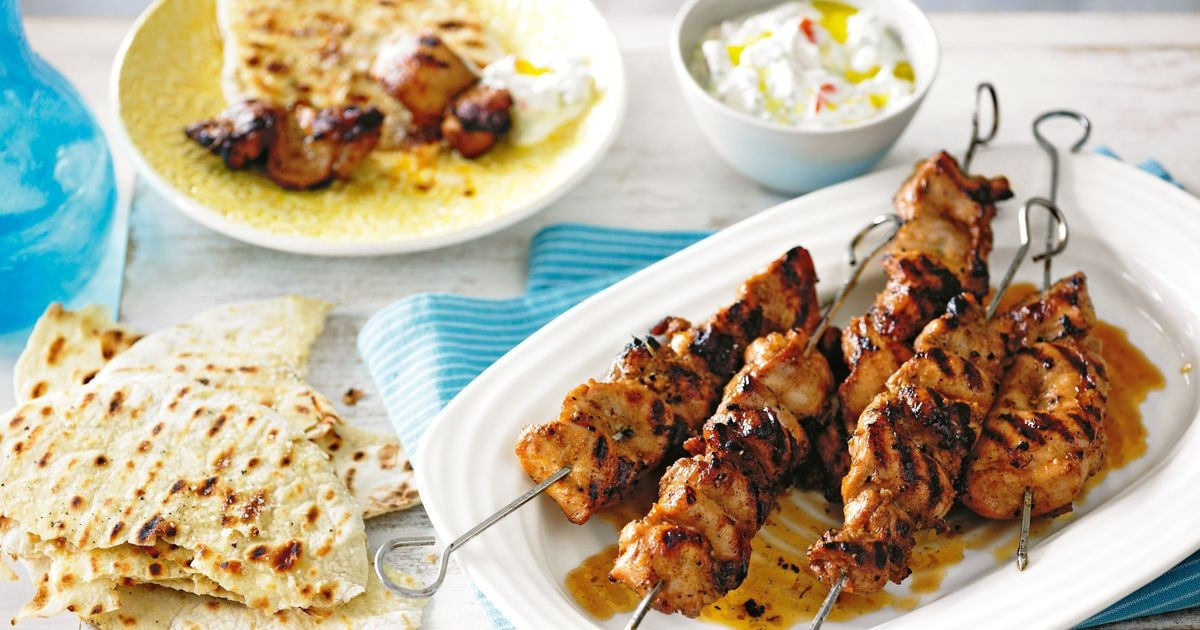 Middle Eastern Chicken Recipes  Middle Eastern chicken skewers