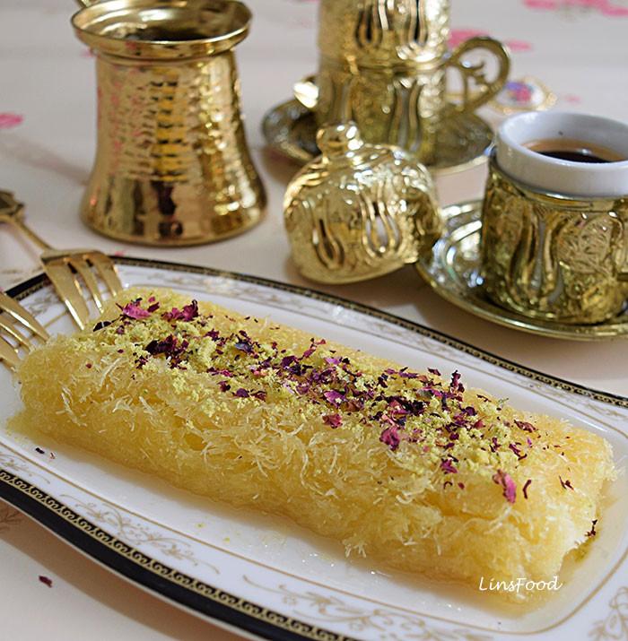 Middle Eastern Desert Recipes  Knafeh Recipe Uk