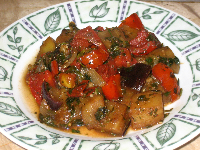 Middle Eastern Eggplant Recipes  eggplant salad middle eastern