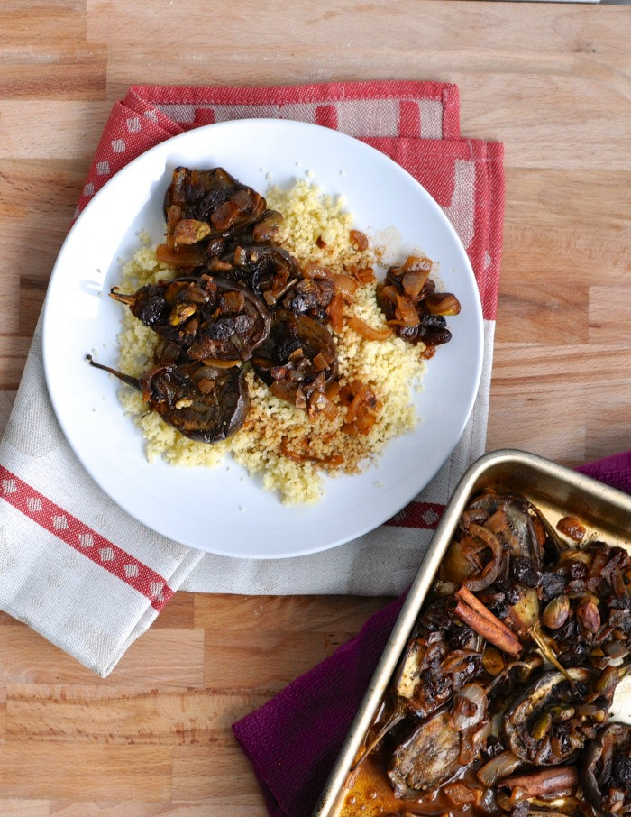 Middle Eastern Eggplant Recipes  Middle Eastern Eggplant and Couscous Recipe