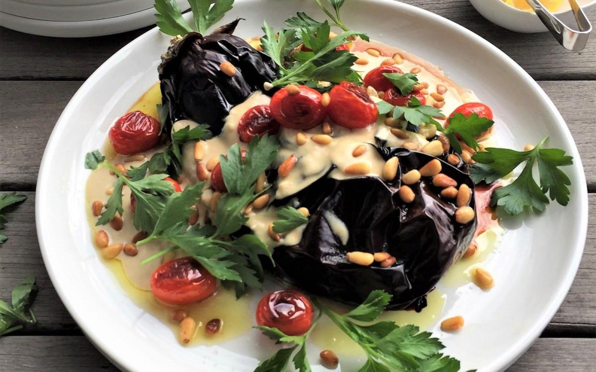Middle Eastern Eggplant Recipes  Middle Eastern Eggplant Roast [Vegan Gluten Free] e