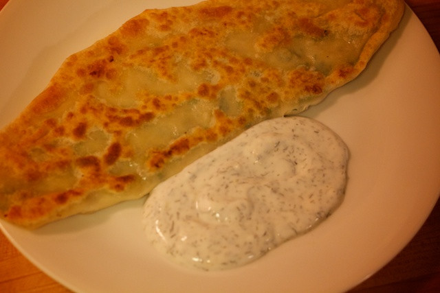 Middle Eastern Flatbread Recipes  Food of The Middle East Bolani Fried Afghan Flatbread