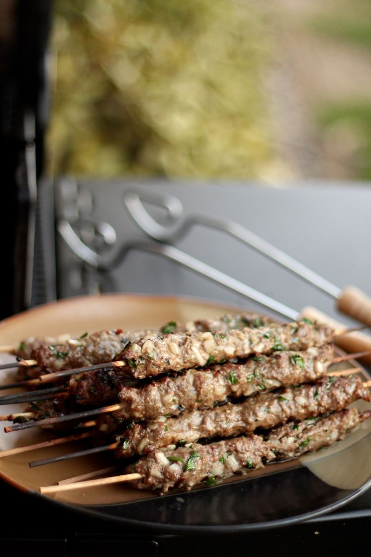 Middle Eastern Ground Beef Recipe  MIDDLE EASTERN BEEF AND PARSLEY KEBABS FashionEdible