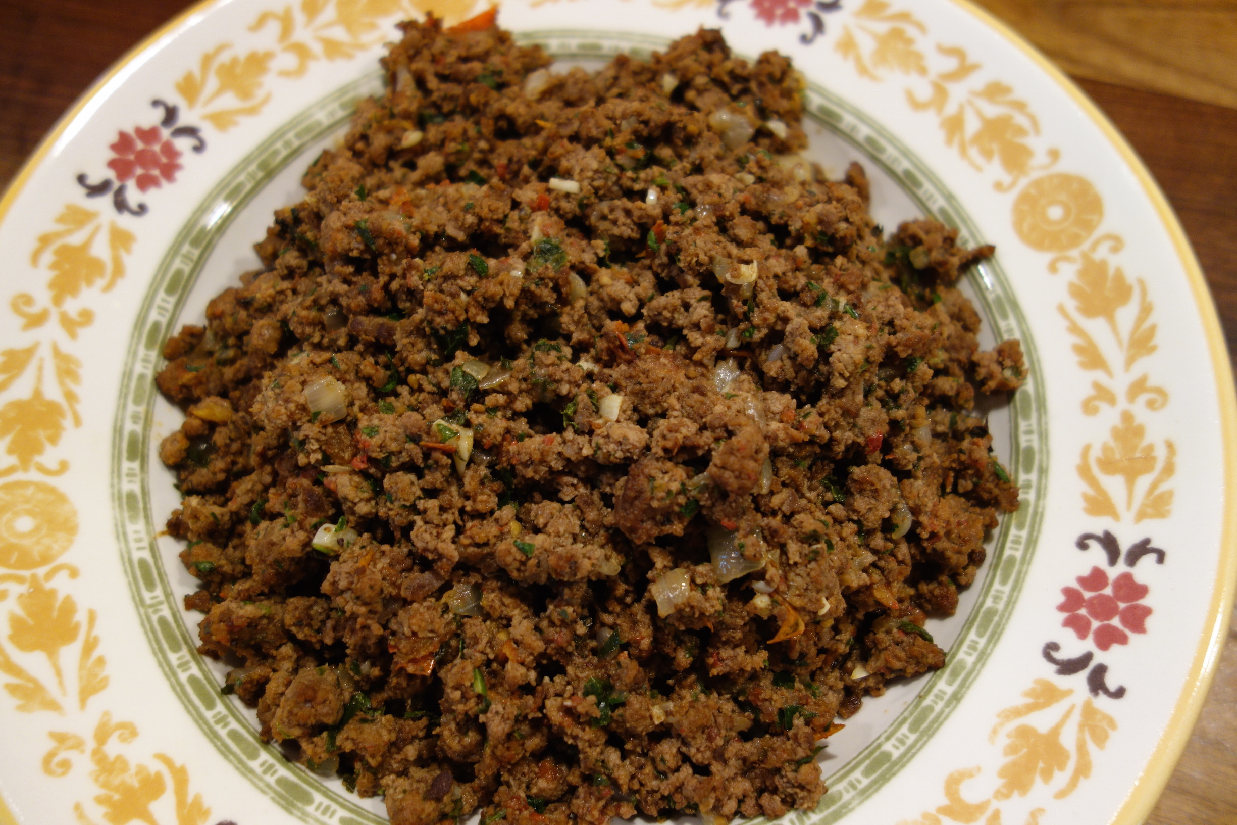 Middle Eastern Ground Beef Recipe  Sharing Plate Middle Eastern