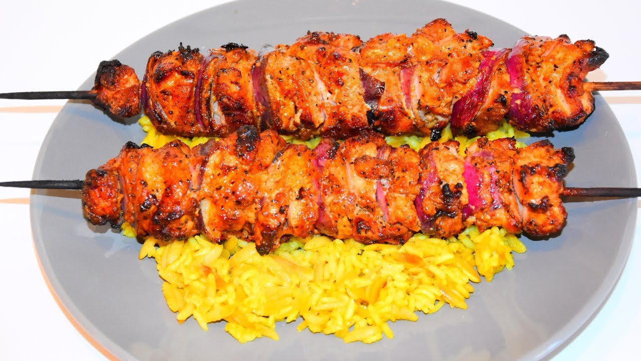 Middle Eastern Kabob Recipes  middle eastern grilled chicken