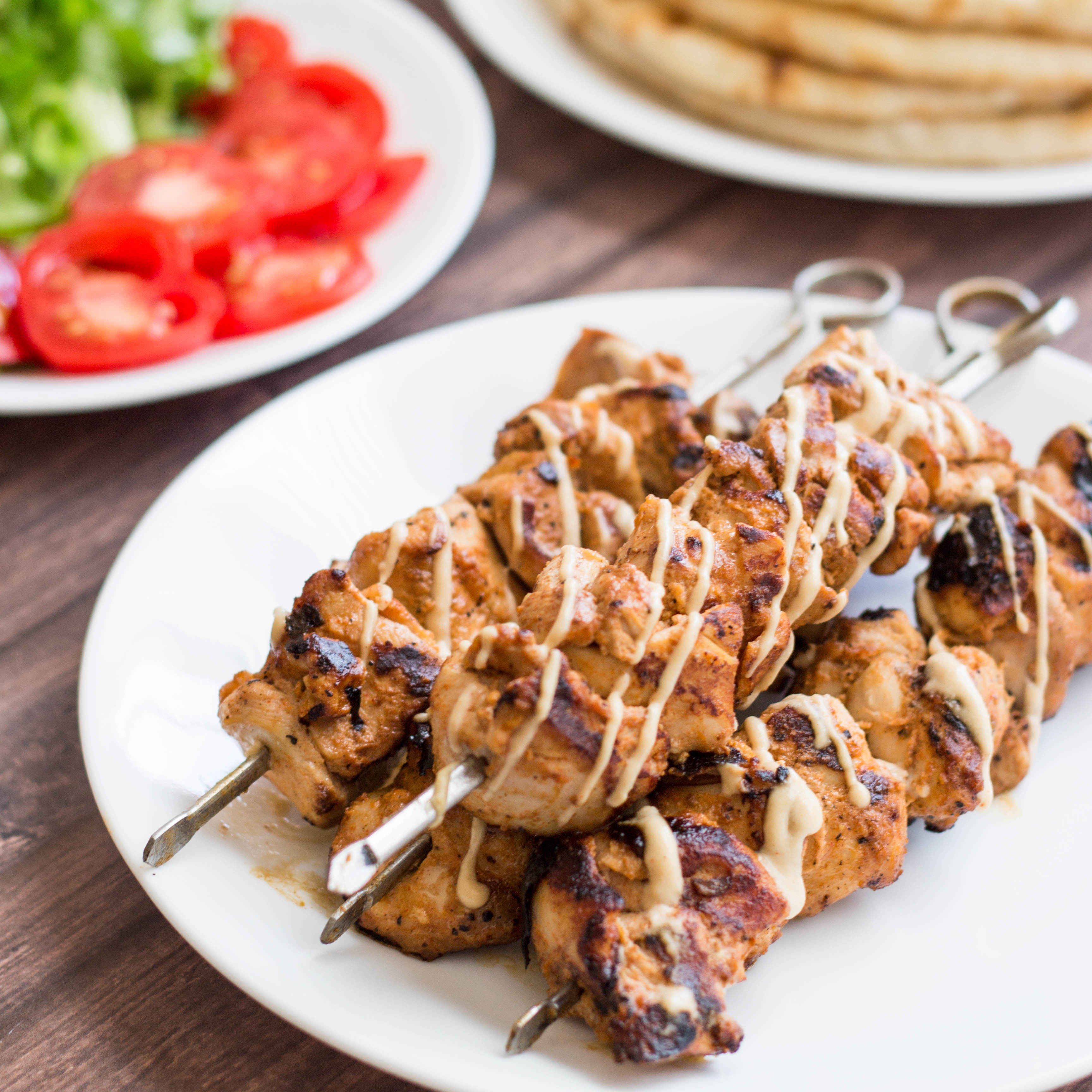 Middle Eastern Kabob Recipes  middle eastern marinade for chicken kebabs