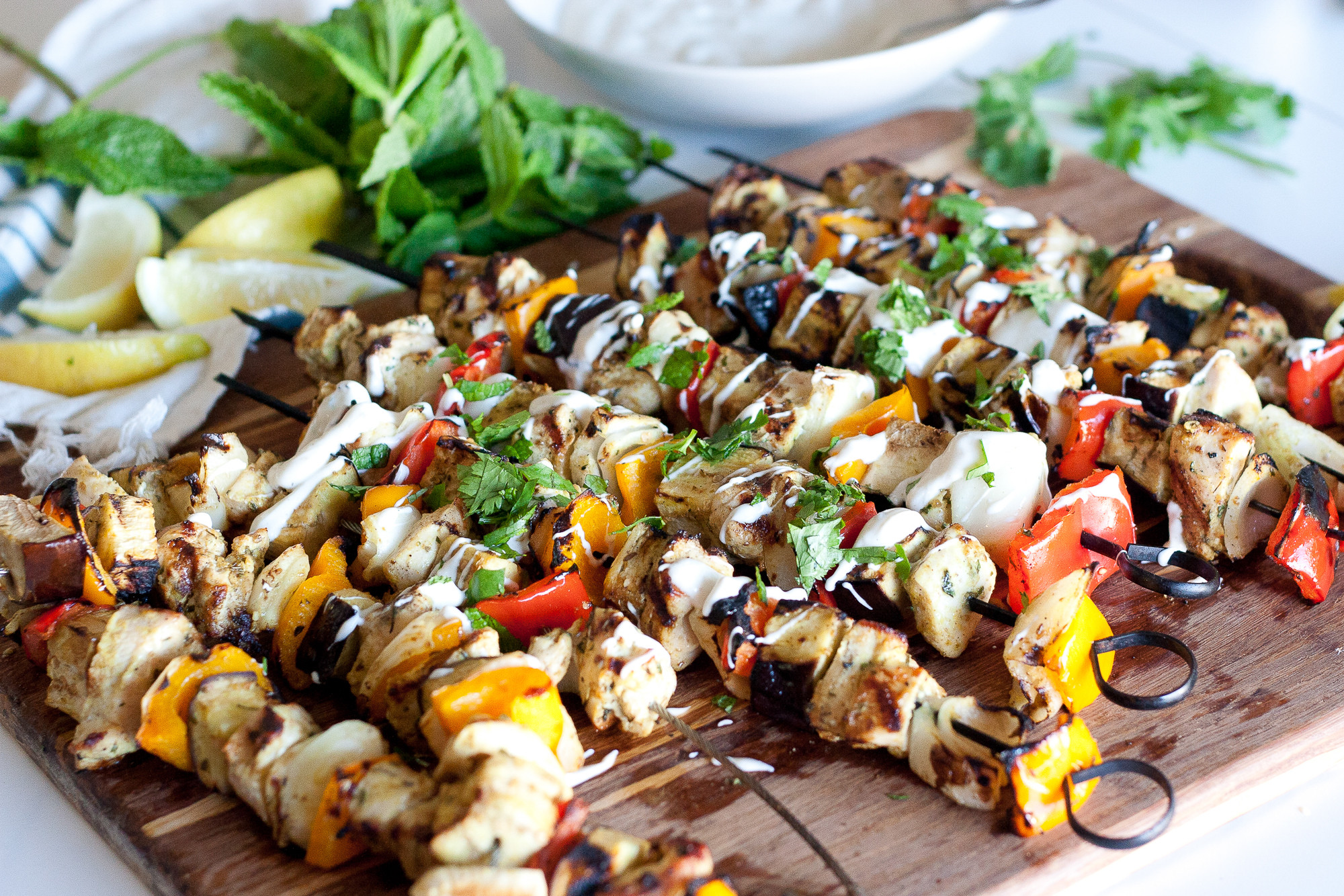 Middle Eastern Kabob Recipes  middle eastern chicken kabob marinade