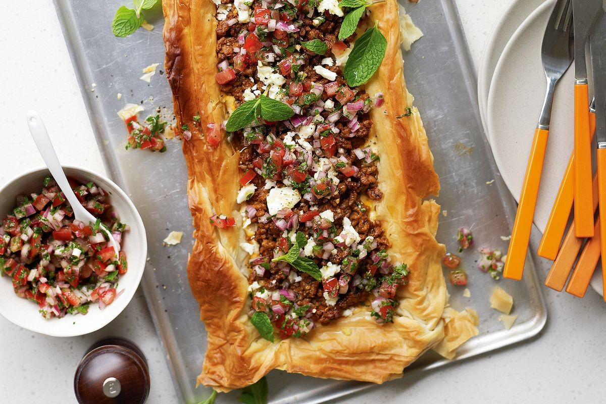 Middle Eastern Lamb Recipes  Middle Eastern lamb tart Recipes delicious