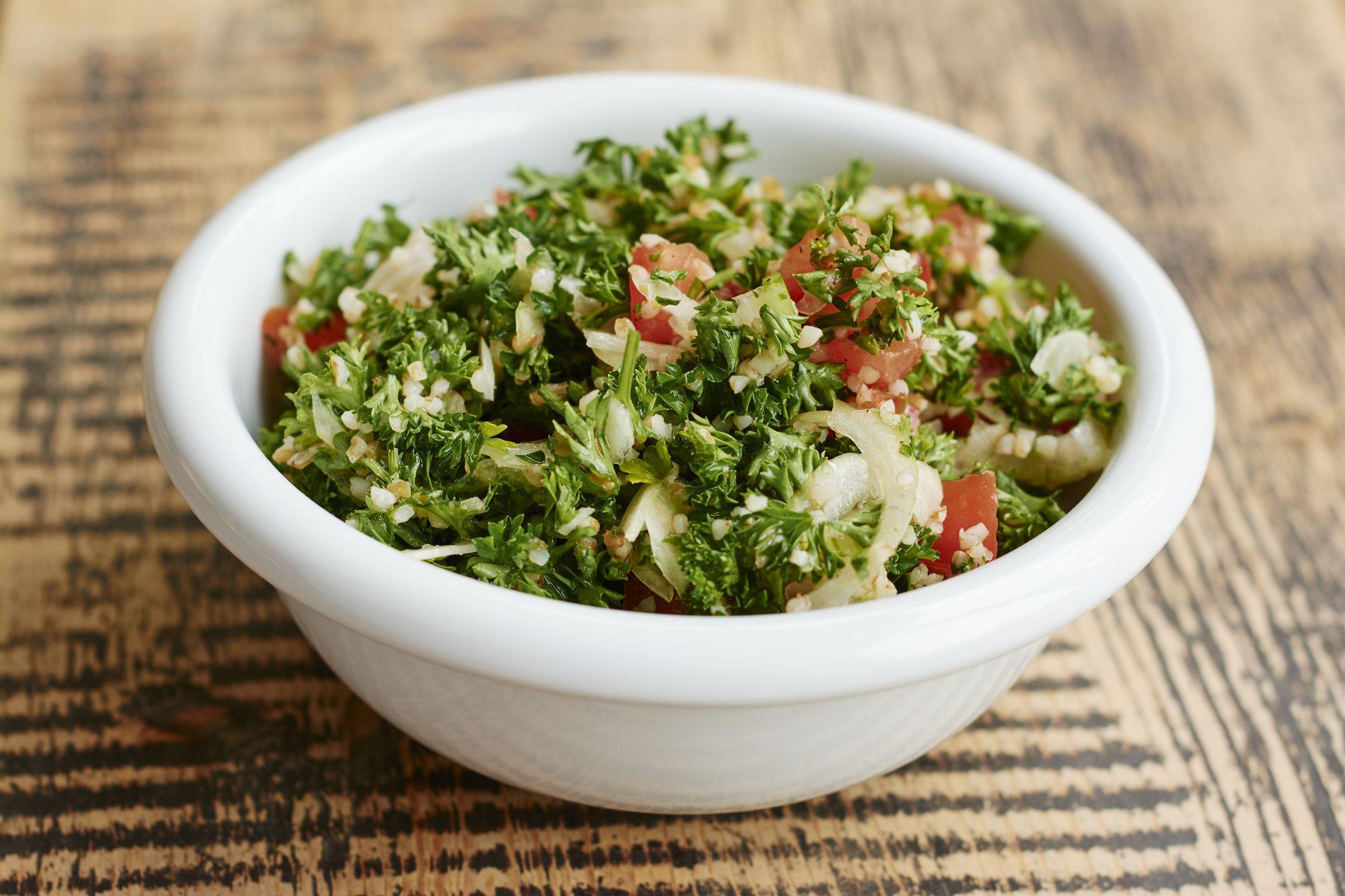 Middle Eastern Recipes Vegetarian  Vegan Freekeh Tabouli Recipe