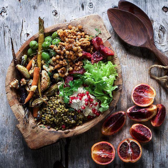 Middle Eastern Recipes Vegetarian  Middle Eastern Veggie Bowl recipe