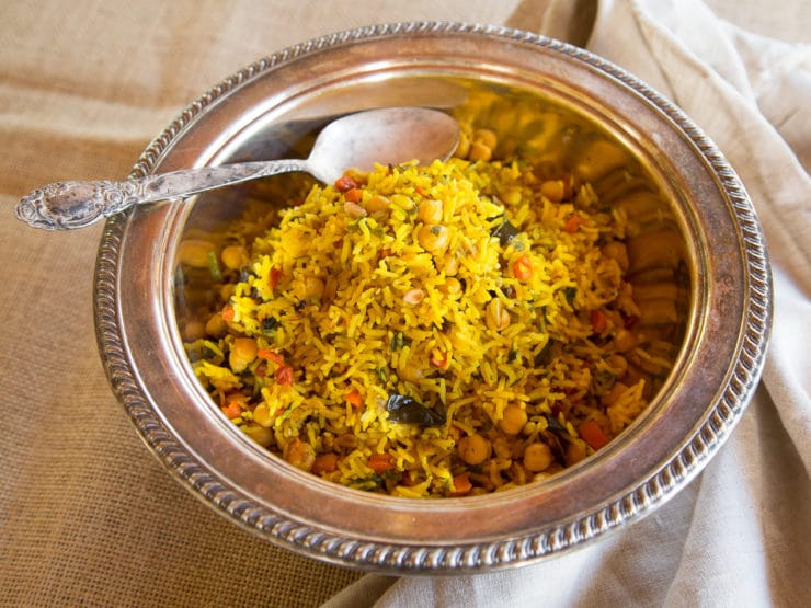 Middle Eastern Recipes Vegetarian  Middle Eastern Roasted Ve able Rice Healthy Vegan Dish