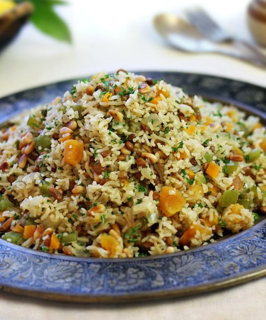 Middle Eastern Rice Pilaf Recipes  lentil rice recipe middle eastern