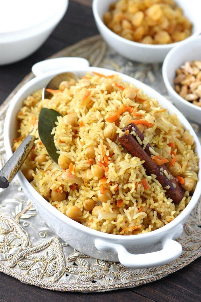 Middle Eastern Rice Pilaf Recipes  Bukhari Rice