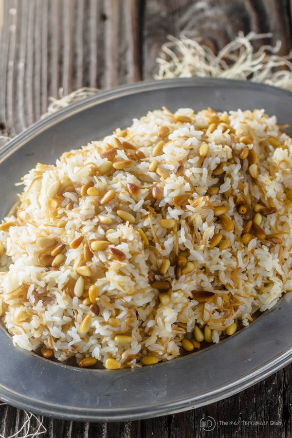 Middle Eastern Rice Pilaf Recipes  Lebanese Rice with Vermicelli
