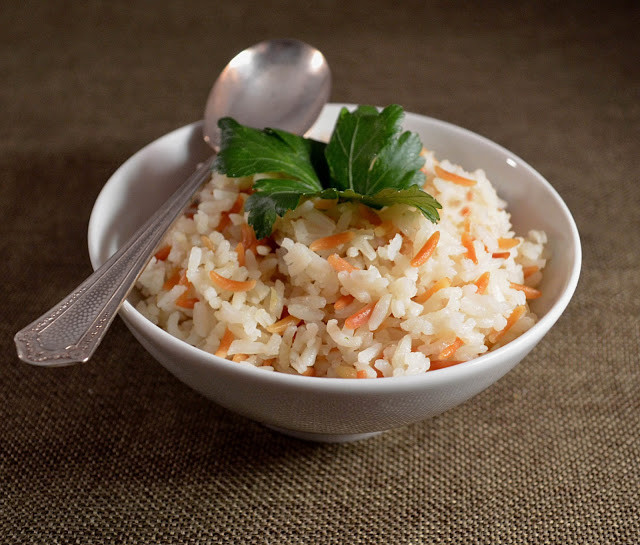 Middle Eastern Rice Pilaf Recipes  Jilly Inspired Middle Eastern Rice Pilaf with Toasted Orzo