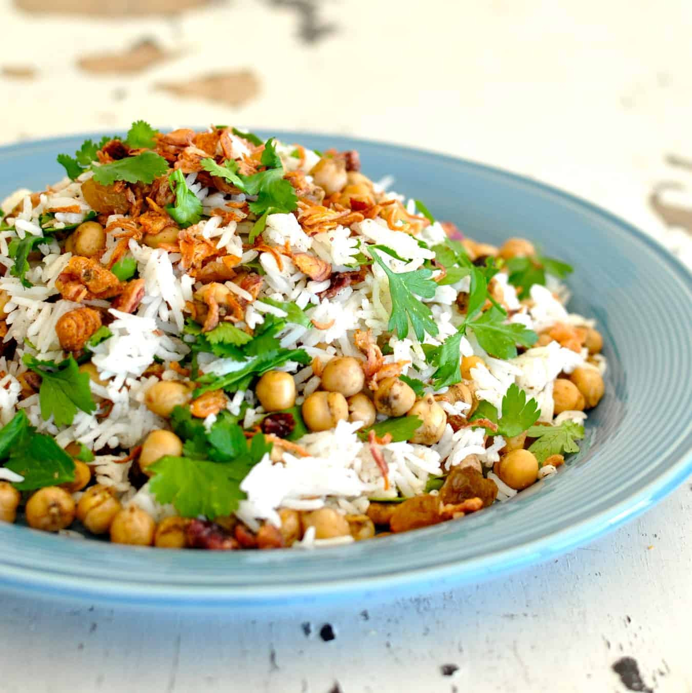 Middle Eastern Rice Pilaf Recipes  Chickpea Rice Pilaf